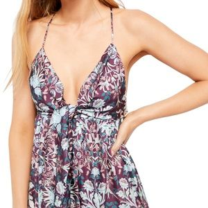 NWT Free People Sun Bleached Floral Maxi Dress